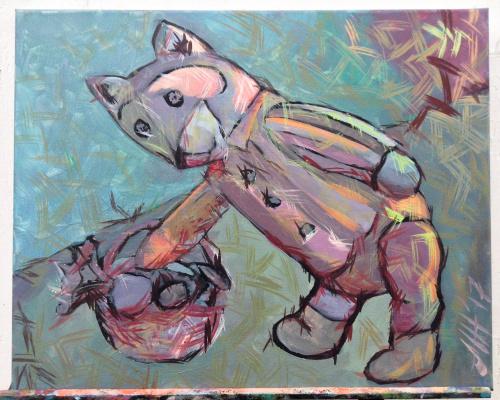 Никита Мурзин. The Secret Life of Animals. Bear and mushrooms