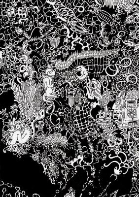 """Svetlana Makarova. Fragment of work """"Under water"""""""