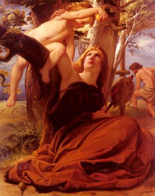 Эдуард фон Стейнл. Адам и Ева после грехопадения