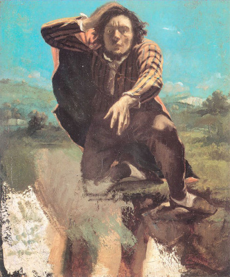 Gustave Courbet. A desperate man