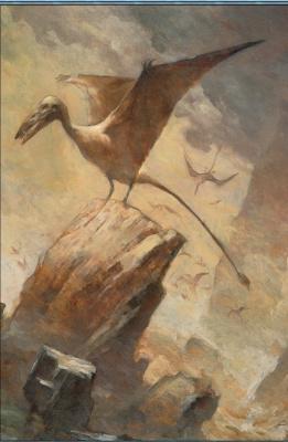 Джеффри Джонс. Птерозавр