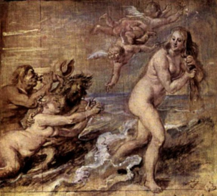 Peter Paul Rubens. The Birth Of Venus