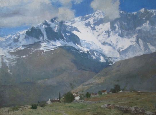 """Андрей Ревазович Кетиладзе. """" В горах Швейцарии"""""""