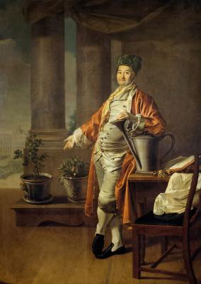 Дмитрий Григорьевич Левицкий. Портрет Прокофия Акинфиевича Демидова. 1773