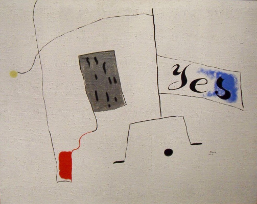 Joan Miro. Composition