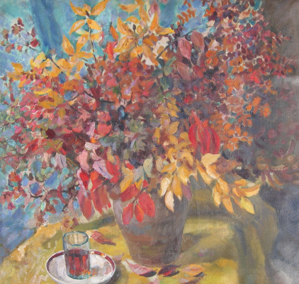 Vasily Fadeevich Demin. Autumn bouquet