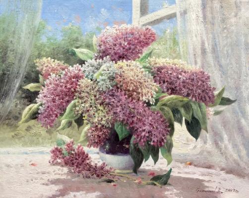 Vasily Ivanovich Gribennikov. Lilac