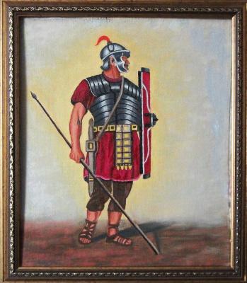 Victor Petrovich Burmin. Roman warrior