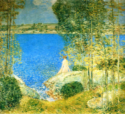 Childe Hassam. Bather
