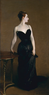 John Singer Sargent. Madame X (Madame Gautreau)