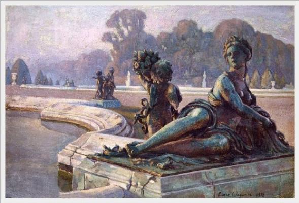 Einar Wegener (Lily Elbe). Evening on the lake