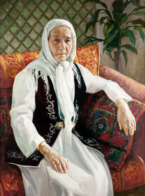 Pavel Gennadievich Dragunov. Portrait of an elderly woman