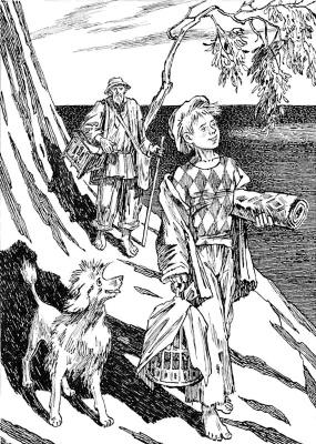 Alexander Vasilievich Kuzmin. White poodle. A.I. Kuprin.