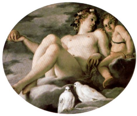 Annibale Carracci. Venus and Cupid