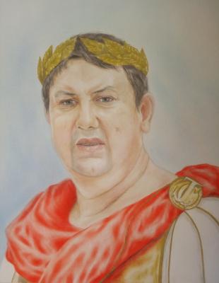 "Анастасия Александровна Руденя. ""В образе Цезаря"""