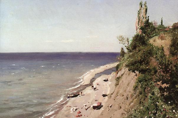 Vladimir Egorovich Makovsky. Crimea coast