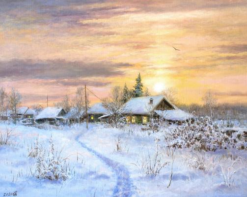 Сергей Владимирович Дорофеев. Evening lights