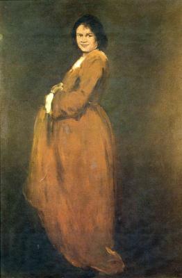 Джон Август. Беременная женщина