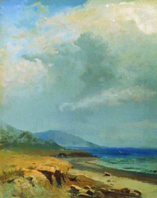 Fedor Alexandrovich Vasilyev. Landscape. Crimea