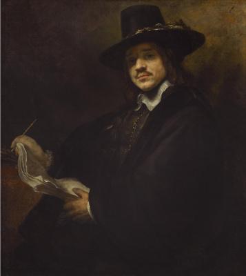 Портрет молодого художника
