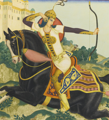 Edmund Dulac. Королева Чанд.