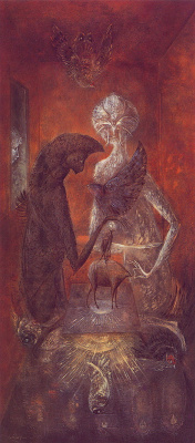 Leonora Carrington. The Reflection Of The Oracle