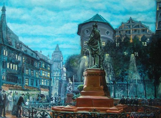 Evgeny Vladimirovich Terentyev. Königsberg. monument to Kaiser
