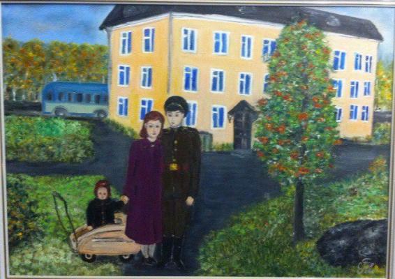 Галина Николаевна Силина. On leave. 1961.