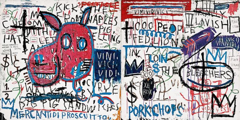Jean-Michel Basquiat. People from Naples