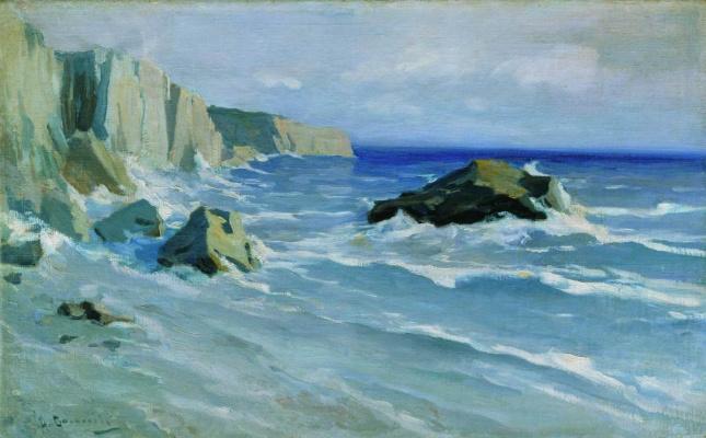 Alexey Stepanovich Stepanov. Sea