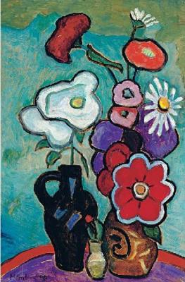 Gabriele Münter. Private collection