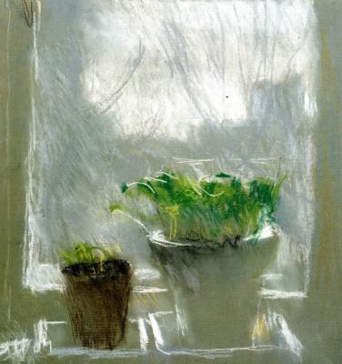 Tetyana Yablonska. Sprouts