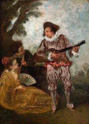 Antoine Watteau. Lerner