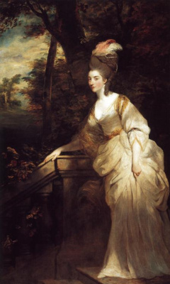 Joshua Reynolds. Georgiana, Duchess of Devonshire