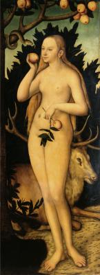 Lucas the Younger Cranach. Eva