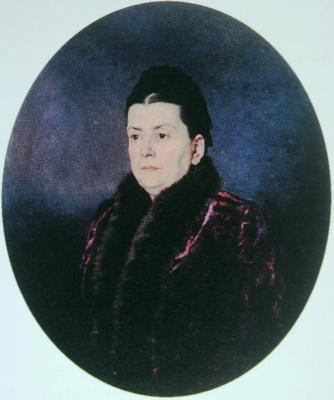 Nikolay Aleksandrovich Yaroshenko. Female portrait 1880