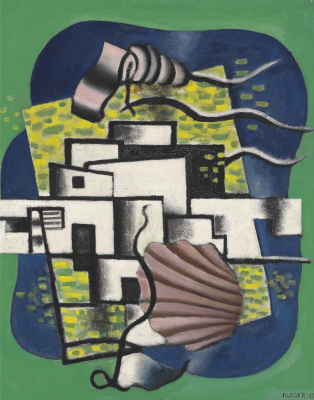 Fernand Leger. Composition with shell
