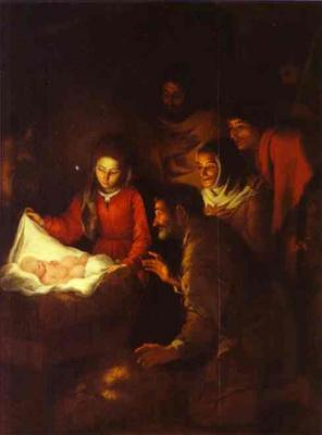 Bartolomé Esteban Murillo. The adoration of the shepherds