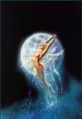 Luis Royo. Diagonal dreams