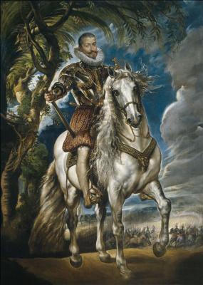 Питер Пауль Рубенс. Конный портрет герцога Лерма