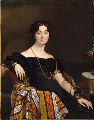 Jean Auguste Dominique Ingres. Portrait of Madame LeBlanc