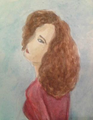 Zina Vladimirovna Parisva. Sad girl