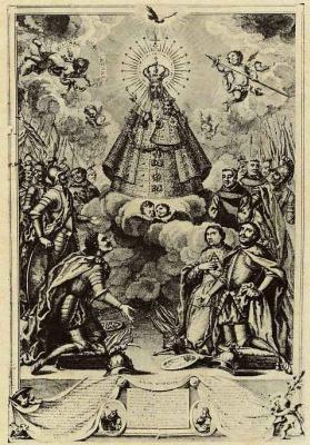 Антонио Понс. Образ Девы Марии Гваделупской