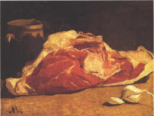 Клод Моне. Натюрморт с мясом