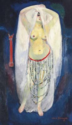 Kees Van Dongen. Anita as alma (Egyptian dancer) 1908