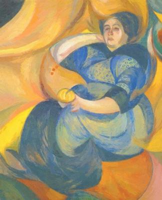 Александр Константинович Богомазов. Female portrait