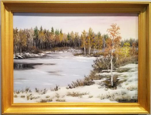 Ольга Болеславовна Горпинченко. The meeting of autumn with winter