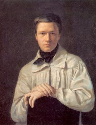 Алексей Васильевич Тыранов. Автопортрет