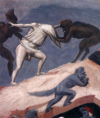 Giotto di Bondone. Judgment. Fragment 19