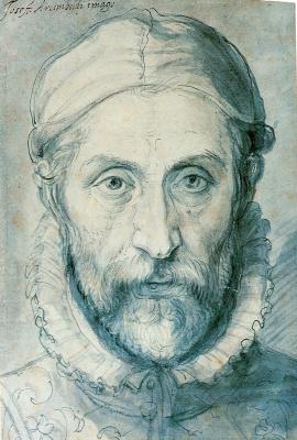 Джузеппе Арчимбольдо. Автопортрет